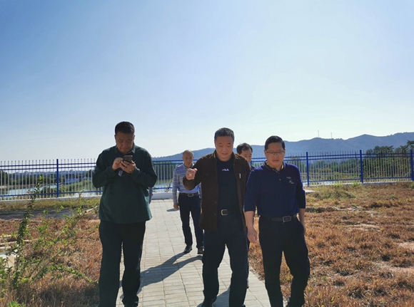 市住建局督导城镇生活污水垃圾处理设施项目建设3.jpg