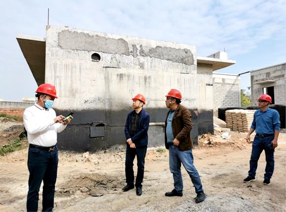 市住建局督导城镇生活污水垃圾处理设施项目建设7.jpg